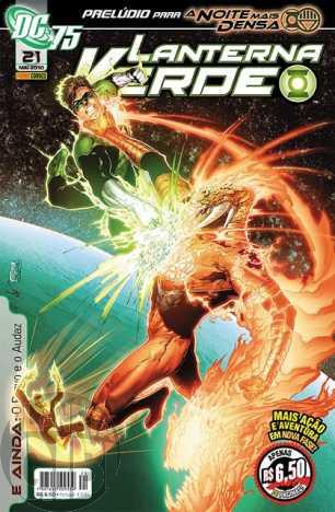 Lanterna Verde [Panini - 1ª série] nº 021 mai/2010 - Dimensão DC