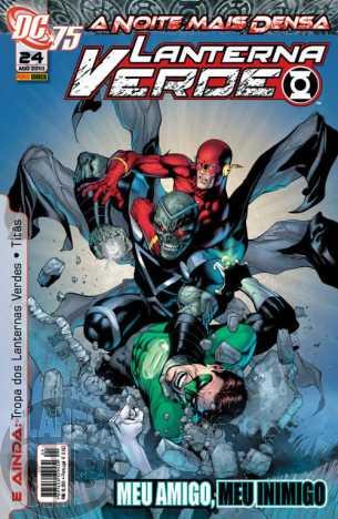 Lanterna Verde [Panini - 1ª série] nº 024 ago/2010 - Dimensão DC