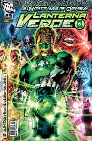 Lanterna Verde [Panini - 1ª série] nº 029 jan/2011 - Dimensão DC