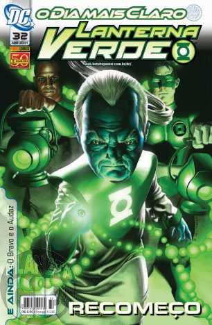 Lanterna Verde [Panini - 1ª série] nº 032 abr/2011 - Dimensão DC
