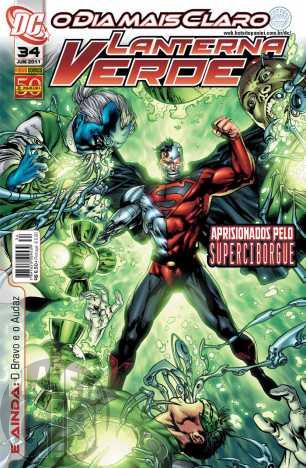 Lanterna Verde [Panini - 1ª série] nº 034 jun/2011 - Dimensão DC