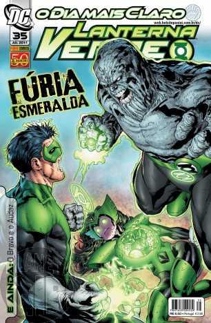 Lanterna Verde [Panini - 1ª série] nº 035 jul/2011 - Dimensão DC