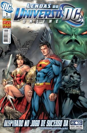 Lendas do Universo DC Online nº 001 set/2011