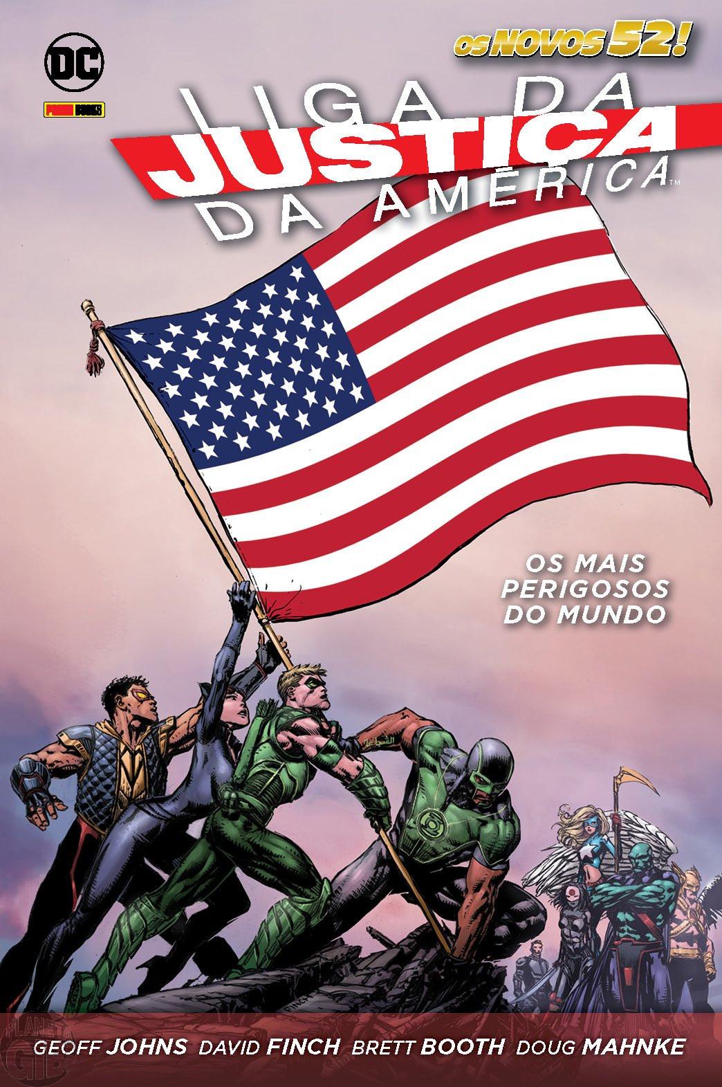 Liga da Justiça da América  - [Panini - Os Novos 52! - Capa Dura