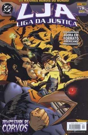 Liga da Justiça [Panini - 1ª série] nº 009 ago/2003