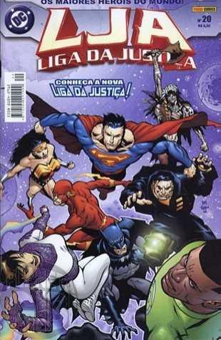 Liga da Justiça [Panini - 1ª série] nº 020 jul/2004