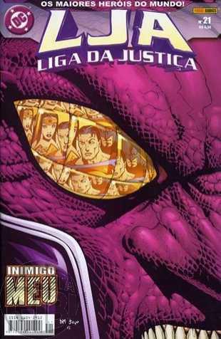 Liga da Justiça [Panini - 1ª série] nº 021 ago/2004