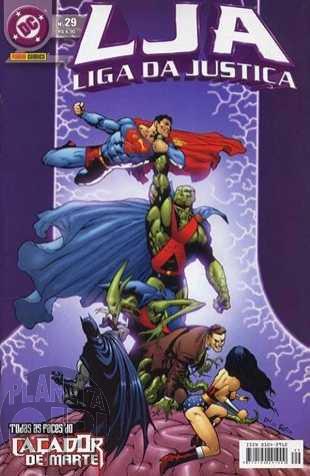 Liga da Justiça [Panini - 1ª série] nº 029 abr/2005
