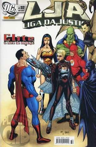 Liga da Justiça [Panini - 1ª série] nº 032 jul/2005
