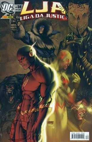 Liga da Justiça [Panini - 1ª série] nº 034 set/2005