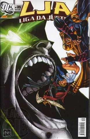 Liga da Justiça [Panini - 1ª série] nº 035 out/2005