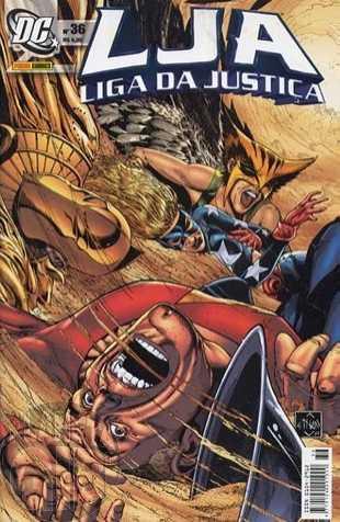 Liga da Justiça [Panini - 1ª série] nº 036 nov/2005