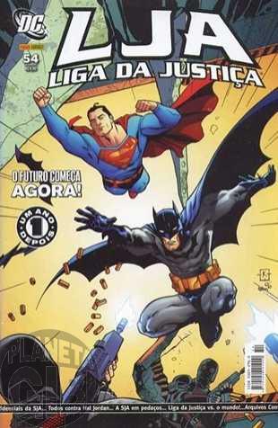 Liga da Justiça [Panini - 1ª série] nº 054 mai/2007