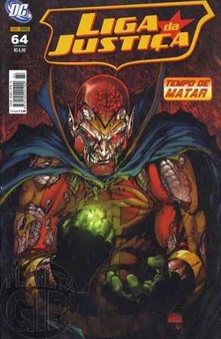 Liga da Justiça [Panini - 1ª série] nº 064 mar/2008