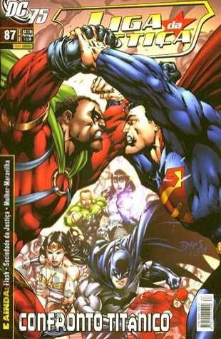 Liga da Justiça [Panini - 1ª série] nº 087 fev/2010