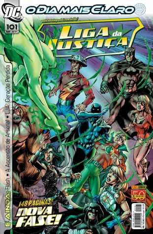 Liga da Justiça [Panini - 1ª série] nº 101 abr/2011 - Nova Fase
