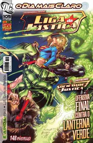 Liga da Justiça [Panini - 1ª série] nº 105 ago/2011