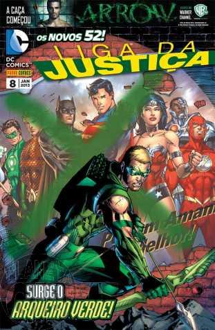 Liga da Justiça [Panini - 2ª série] nº 008 jan/2013