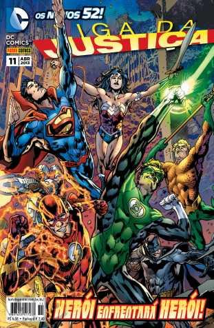 Liga da Justiça [Panini - 2ª série] nº 011 abr/2013