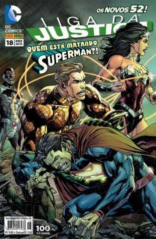 Liga da Justiça [Panini - 2ª série] nº 018 dez/2013