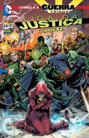 Liga da Justiça [Panini - 2ª série] nº 022 abr/2014