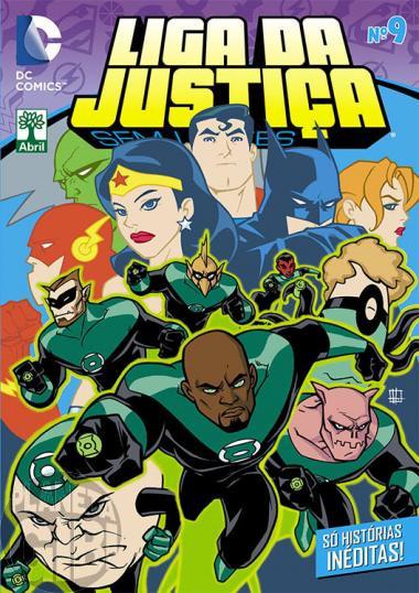 Liga da Justiça Sem Limites [Abril - DC Animated] nº 009 mar/2015 - Última Edição