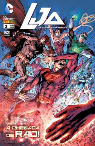 LJA Liga da Justiça da América [Panini - 1ª série] nº 002 mai/2016 - A Chegada de Rao!