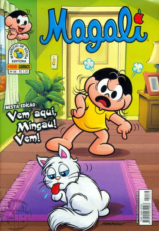 Magali [2ª série - Panini] nº 066 jun/2012
