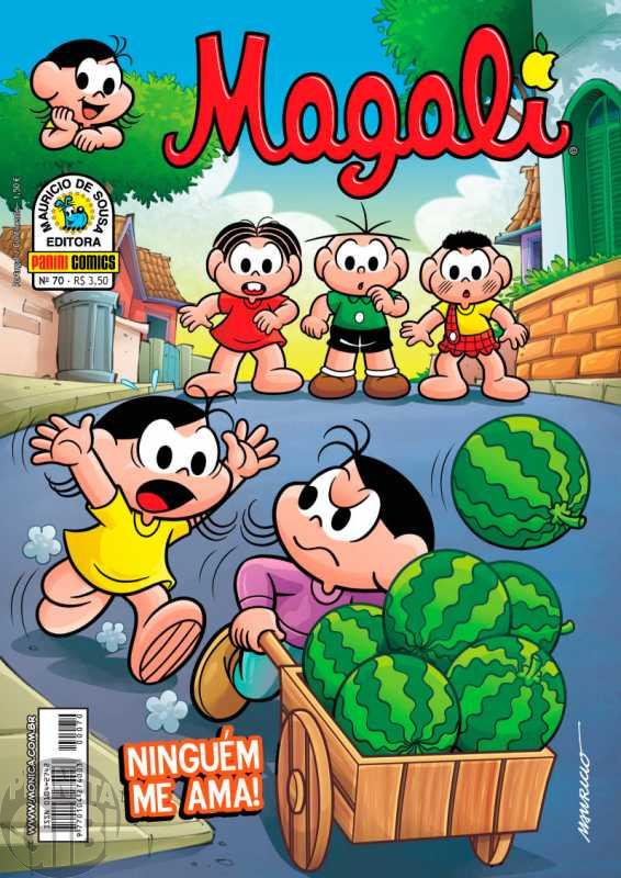 Magali [2ª série - Panini] nº 070 out/2012