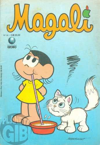 Magali [1s Globo] nº 024 mai/1990