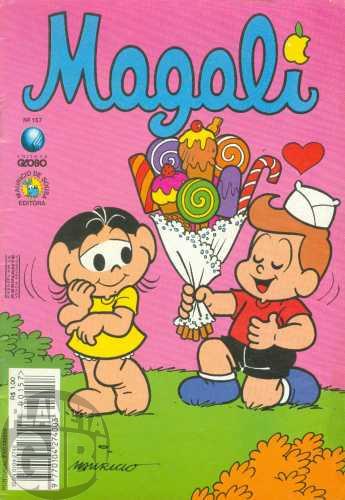 Magali [1s Globo] nº 157 jun/1995
