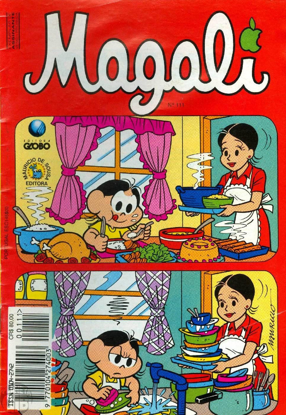 Magali [1s Globo] nº 111 set/1993