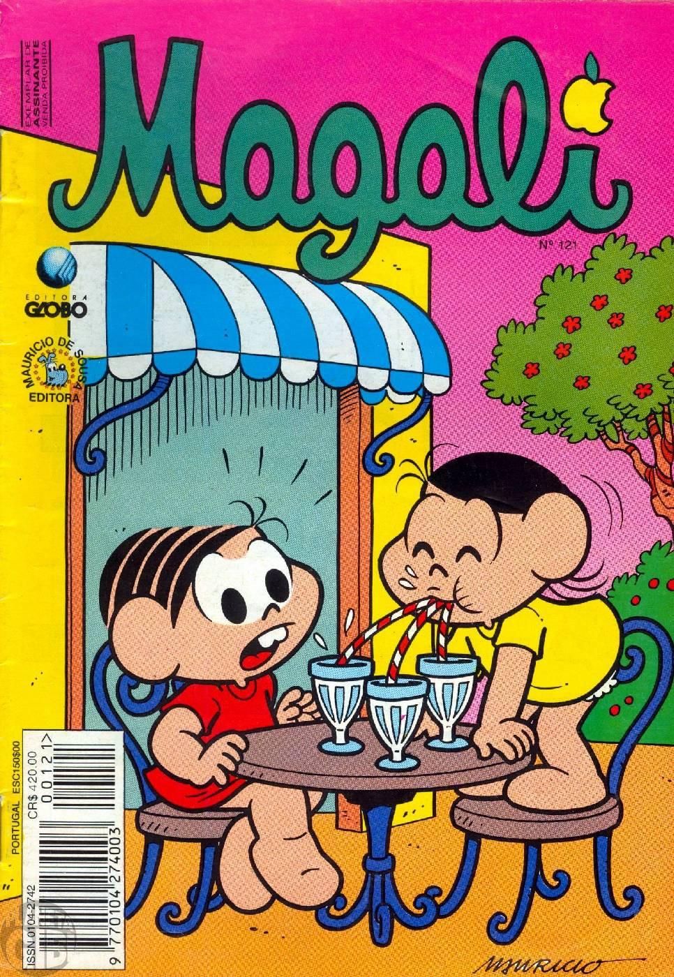 Magali [1s Globo] nº 121 fev/1994