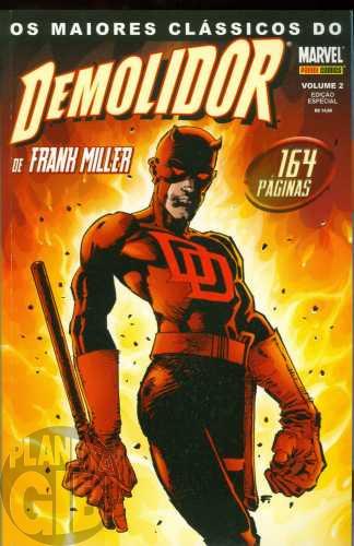 Maiores Clássicos do Demolidor [Panini] nº 002 dez/2003 - Frank Miller