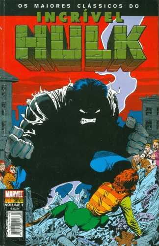 Maiores Clássicos do Incrível Hulk [Panini] nº 001 jun/2008 - Peter David & Todd McFarlane