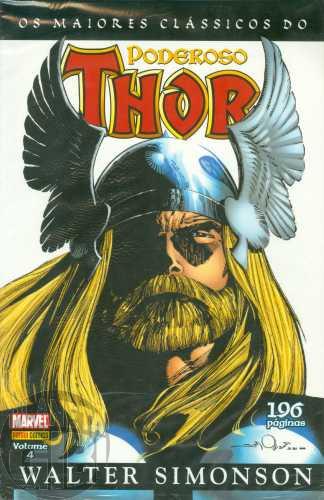 Maiores Clássicos do Poderoso Thor [Panini] nº 004 abr/2011 - Walter Simonson
