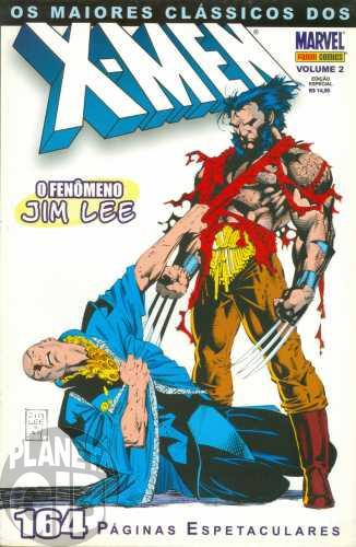 Maiores Clássicos dos X-Men [Panini] nº 002 jan/2004 - Jim Lee