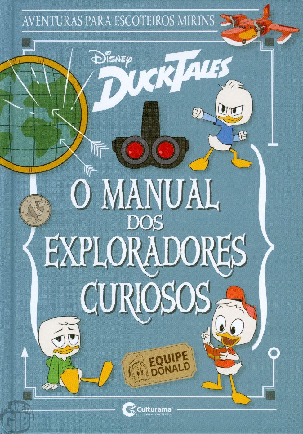 Manual dos Exploradores Curiosos DuckTales – Aventuras para Escoteiros Mirins - ago/2019 Capa Dura