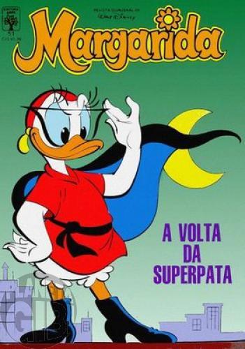 Margarida [1ª série] nº 051 jun/1988 - A Volta da Superpata - Vide detalhes
