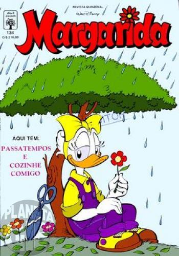 Margarida [1ª série] nº 134 ago/1991 - O Inimigo Público nº 1