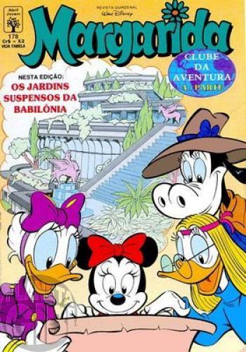 Margarida [1ª série] nº 178 jun/1993 - Clube da Aventura - Parte 3