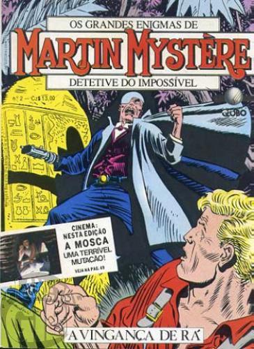 Martin Mystère [Globo] nº 002 - A Vingança de Rá