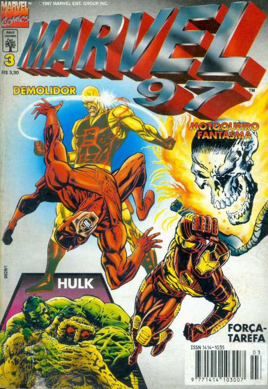 Marvel 1997 [Abril] nº 003 mai/1997