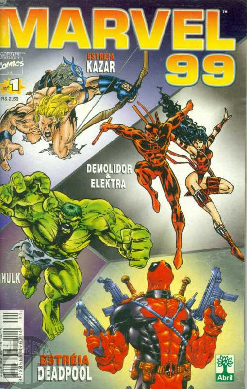 Marvel 1999 [Abril] nº 001 jan/1999