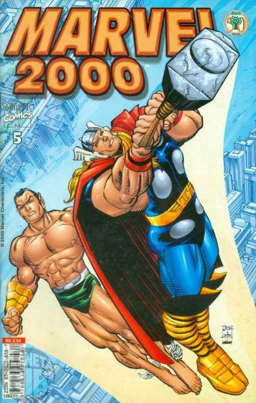 Marvel 2000 [Abril] nº 005 mai/2000