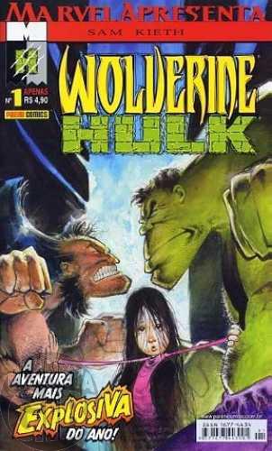 Marvel Apresenta [Panini - 1ª série] nº 001 ago/2002 - Wolverine & Hulk