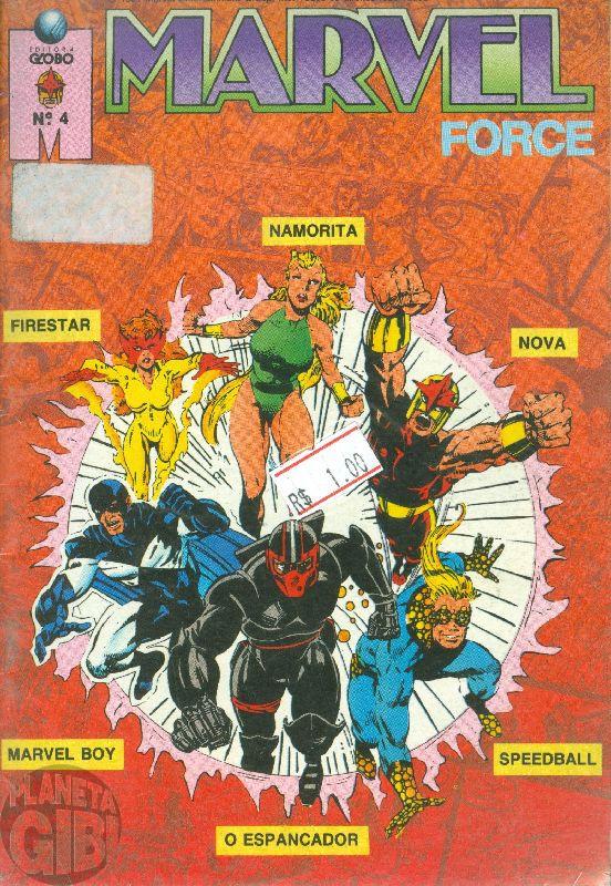 Marvel Force [Globo] nº 004 out/1991