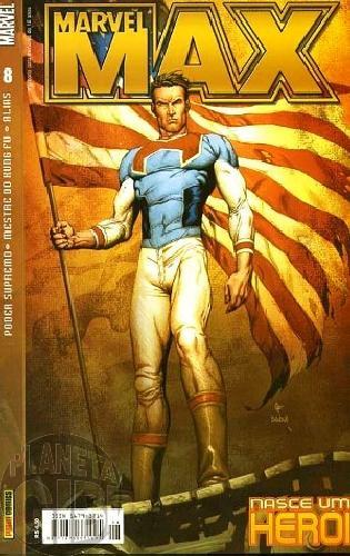 Marvel Max [Panini 1ª série] nº 008 abr/2004 Mestre do Kung Fu, Alias, Jessica Jones, Poder Supremo