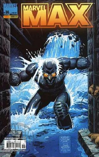 Marvel Max [Panini 1ª série] nº 036 ago/2006 Viúva Negra, Fury, Falcão Noturno