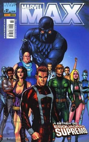 Marvel Max [Panini 1ª série] nº 037 set/2006 Viúva Negra, Fury, Esquadrão Supremo